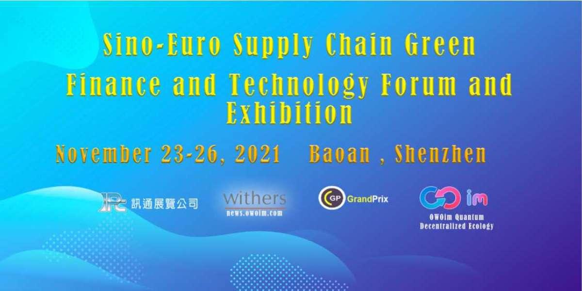 中欧綠色金融科技論壇及展覽會。數碼港共同發佈会